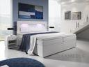 Łóżko kontynentalne MILANO 3 - szuflady 3 materace