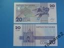 Kirgistan Banknot 20 Som 1993 !! P-6 UNC Rzadki !