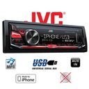 JVC KD-X241 USB DMR iPhone iPod MP3 AUX ANDROID FV