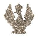 PinksOrzeł oficera jazdy Królestwa Polskiego XIXw