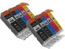 10x Tusz CANON PGI550 CLI551 MG5450 MG5550 MG5650