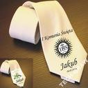 Krawat imienny IHS I Komunia Święta NOWOŚĆ prezent