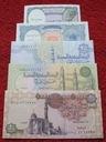 ZESTAW BANKNOTÓW EGIPT !!! STAN UNC !!! SUPER