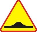 Znak Drogowy A 750mm próg zwalniający A11a faktura