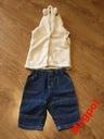Komplet kamizelka i spodnie 68/74