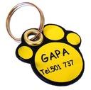 IDENTYFIKATOR ADRESÓWKA dla psa lub kota. GRAWER