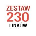 Linki SEO - 230 mocnych linków - POZYCJONOWANIE