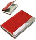 Etui na wizytówki wizytownik GALO 722 czerwony