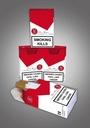 Paczki, opakowania, na papierosy,gilzy 1000 szt