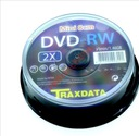 Mini DVD-RW Traxdata 1,4GB do kamer 30min 8cm c.10