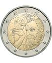 2 euro Francja Auguste Rodin 2017