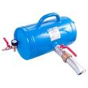 Inflator ręczny manualny 25 litrów pompowanie opon