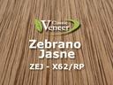 Okleina Modyfikowana Fornir Zebrano Jasne ZEJ-X62