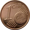 1 euro cent 2015 SŁOWACJA z worka menniczeego