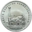 DDR - 5 Марок 1988 - ЛОКОМОТИВ SAXONIA - UNC доставка товаров из Польши и Allegro на русском