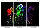 Obraz Muzyka Zespół Rock Hardrock AC/DC Grafika
