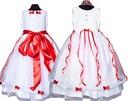 Sukienka tiulowa BETI wesele Producent bł 134/140 Wiek dziecka 8 lat +