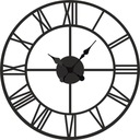 Большой римский часы настенный винтаж тихий, 60 см W23