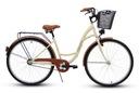 Damski rower miejski GOETZE 28 eco damka + kosz Marka Goetze