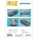 ОАК 2-3/13 Transporter Росомаха 1:50 доставка товаров из Польши и Allegro на русском