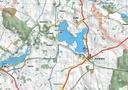 MAPA TURYSTYCZNA DRAWSKO POMORSKIE 1-50000 Region Polska