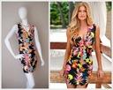 Elegancka Sukienka print w kwiaty 36 S floral Płeć Produkt damski