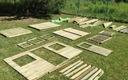 Drewniany Domek Ogrodowy Dla Dzieci Robert + Ślizg Długość 165 cm