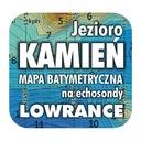 Jezioro Kamień mapa na echosondy Lowrance SImrad