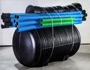 Przydomowa oczyszczalnia ścieków do 4 os.1800L Waga (z opakowaniem) 150 kg