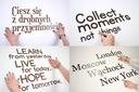 Twoje litery i napisy z drewna na ścianę 3-9cm Kolor dominujący wielokolorowy