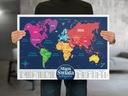 Mapa świata zdrapka PRODUKT POLSKI Kod produktu MZWRD
