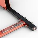 DRĄŻEK STACJONARNY DO PODCIĄGANIA +DIP 400kg ZIDER Liczba otworów montażowych 4