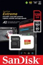 SANDISK 128GB micro SD SDXC UHS3 EXTREME 100/90MBs Producent SanDisk