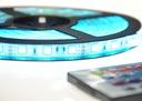 -50% WODOODPORNA TAŚMA RGB 300 LED SMD 5050 5m +W Kolor szkła przezroczyste