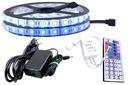 ZESTAW taśma 300 LED SMD RGB 5050 IP65 pilot 7m