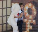Duży miś pluszowy 120 cm misie,zabawki,maskotki Wiek dziecka 3 lata +