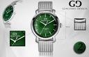 Zegarek męski Giacomo Design GD09 4 WZORY! Mechanizm kwarcowy