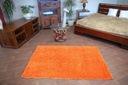 DYWAN SHAGGY 5cm 200x200 pomarańcz KAŻDY RO @10649 Rodzaj shaggy