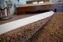 DYWAN SHAGGY 70x100 brąz 5cm gładki jednolity Materiał wykonania polipropylen