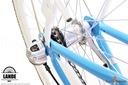 Rower miejski 28 LANDE Savana Nexus Alu biało-róż Materiał ramy aluminium