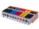 10 Tusze XXL do CANON Pixma IP7250 MG5650 MG5550 Kod producenta 550-551