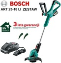 Akumulatorowa podkaszarka ART 23-18 LI zestaw Marka Bosch