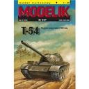 Modelik 5/07 T-54 - rosyjski czołg średni 1:25