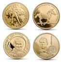2 zł(2014)- Zestaw wszyskich 4 monet z 2014 roku