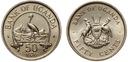 Uganda - 50 Centów 1976 - MENNICZA UNC - RZADKA !