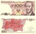 100 zł Waryński seria RL - 1988 - UNC z paczki