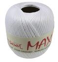 Kordonek MAXI 100% Bawełna 100g / 565m - BIAŁY