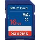 KARTA PAMIĘCI SANDISK SDHC 16GB CLASS 4 KLASA SD