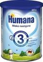 Humana 3 Mleko następne, od 10 miesiąca 800g