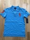 Ralph Lauren koszulka Big Pony USA niebieska